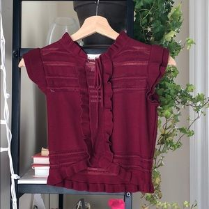 For Love and Lemons knit top.